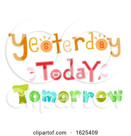 Yesterday Today Tomorrow Illustration by BNP Design Studio