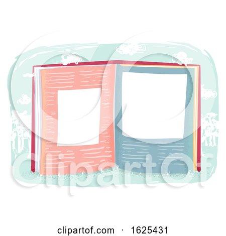 Book Blank Space Illustration by BNP Design Studio