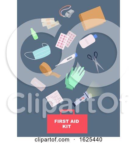 First Aid Kit Illustration by BNP Design Studio