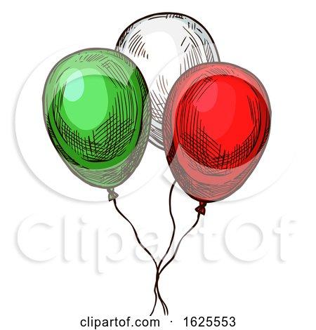 Cinco De Mayo Party Balloons by Vector Tradition SM