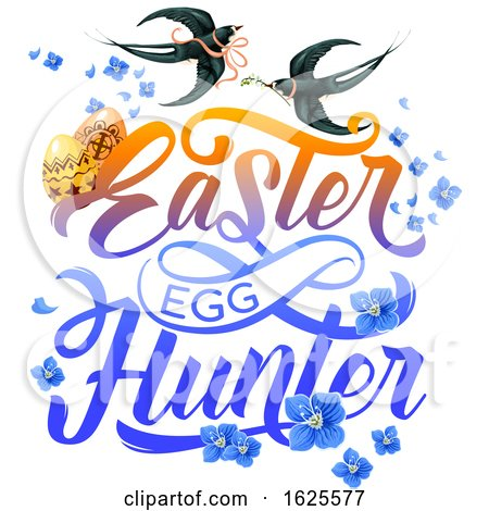 Easter Egg Hunter Design by Vector Tradition SM