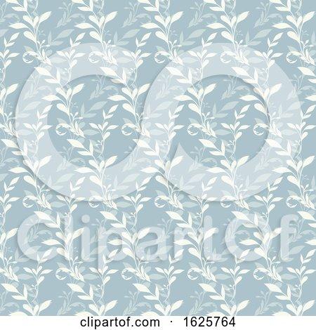 Floral Pattern Background by KJ Pargeter