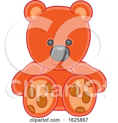 Toy Teddy Bear by Alex Bannykh