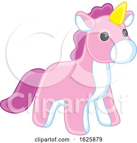 Toy Unicorn by Alex Bannykh