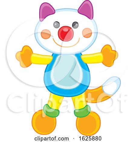 Toy Cat by Alex Bannykh