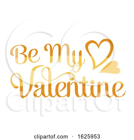 Valentines Day Be My Valentine Design by Vector Tradition SM