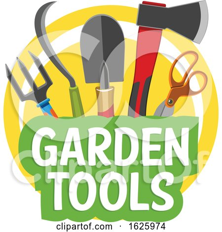 Garden Tools by Vector Tradition SM