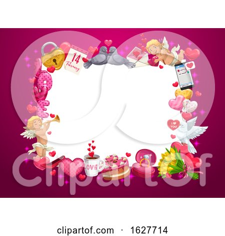 Valentines Day Frame Posters, Art Prints