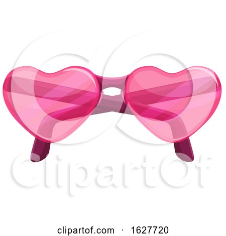 Valentines Day Heart Sunglasses Posters, Art Prints