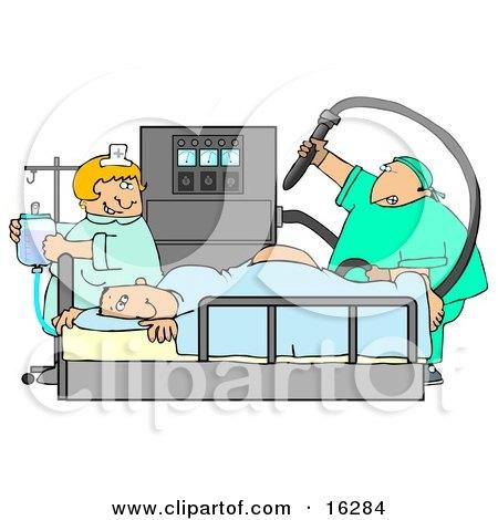 medical fetish injection butt