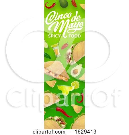 Cinco De Mayo Website Banner by Vector Tradition SM