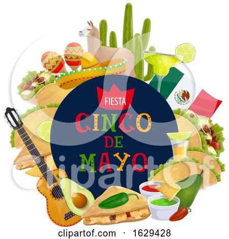 Cinco De Mayo Design by Vector Tradition SM