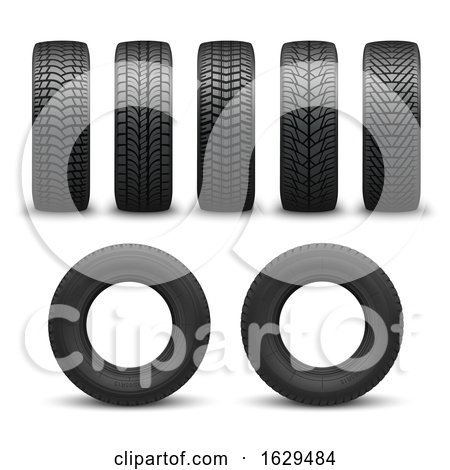 3d Tires by Vector Tradition SM