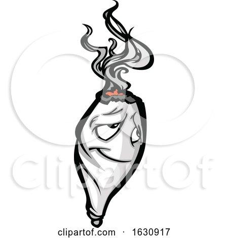 Cannabis Marijuana Pot Weed Joint Mascot Character by Chromaco