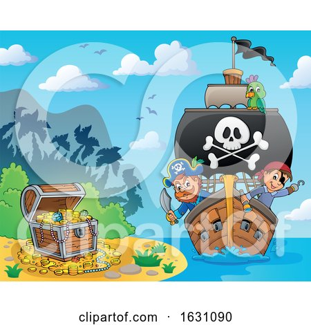 Pirate Ship by visekart