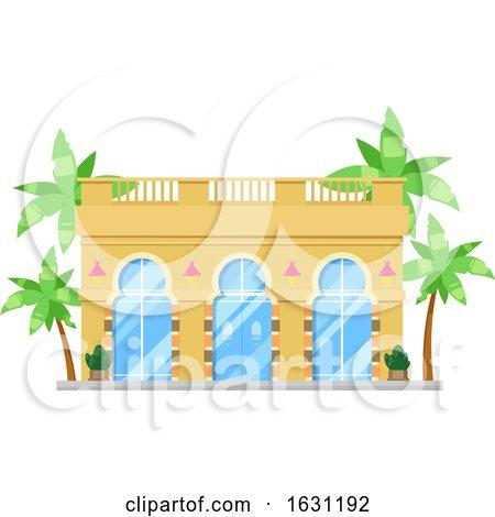 Building Facade by Vector Tradition SM