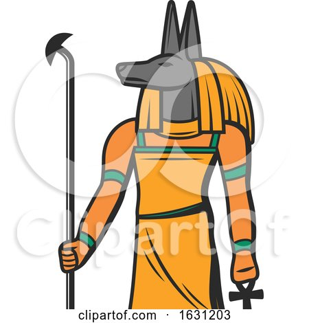 Egyptian Anubis by Vector Tradition SM