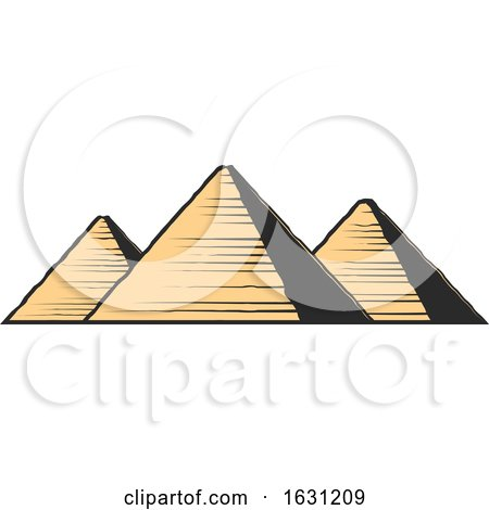 Egyptian Pyramids by Vector Tradition SM