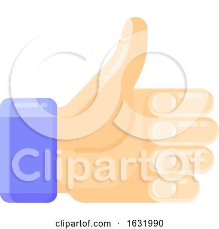 Thumb Up Like Icon by elena