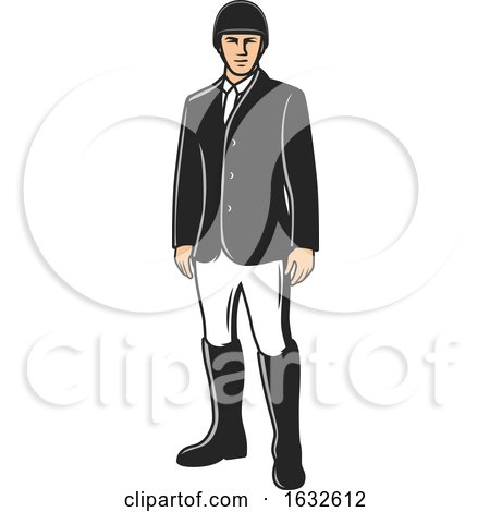 Male Equestrian by Vector Tradition SM