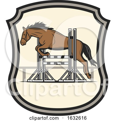 Jumping Horse by Vector Tradition SM