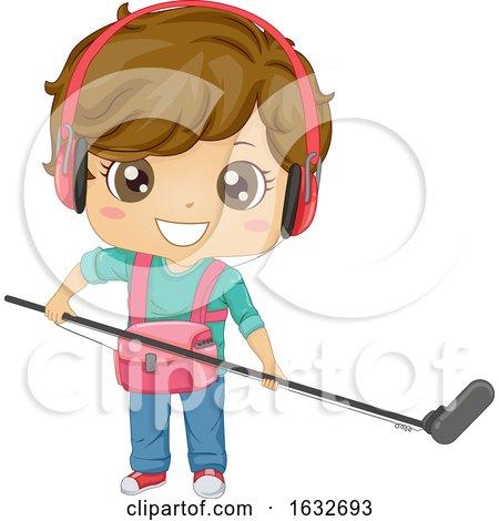 Kid Boy Audio Man Illustration by BNP Design Studio