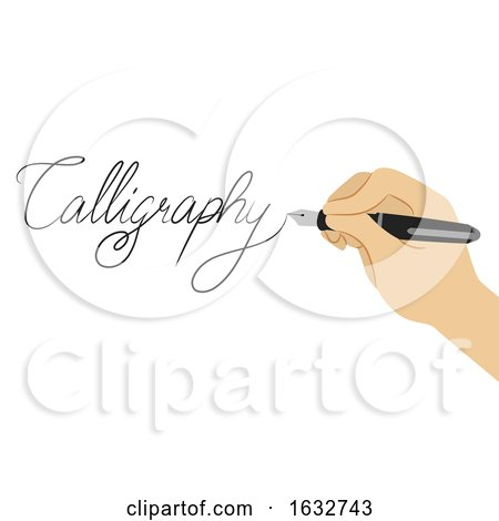 Hand Calligraphy Lettering Illustration Posters, Art Prints