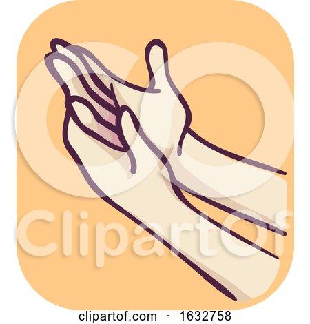 Hands Finger Joint Pain Illustration by BNP Design Studio