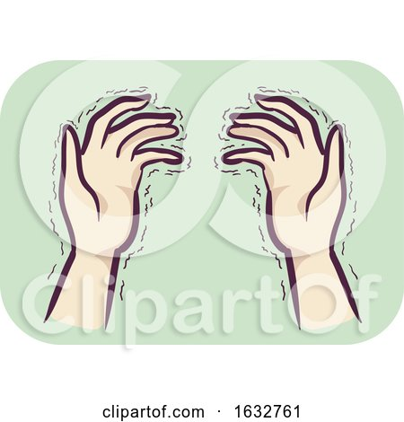 Hands Symptom Tremors Illustration by BNP Design Studio
