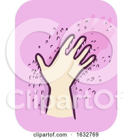 Hand Kid Boy Feeling Texture Illustration by BNP Design Studio