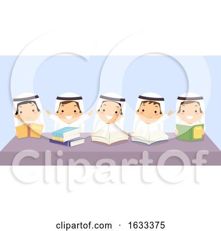 Stickman Kids Boys Classmates Books Illustration by BNP Design Studio