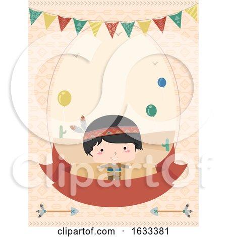Kid Boy Birthday Invitation Illustration by BNP Design Studio