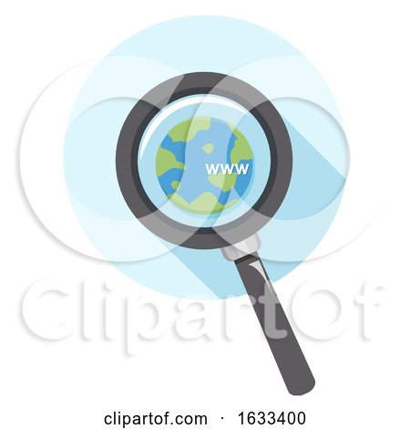 Icon Magnifying Glass Www Search Illustration by BNP Design Studio