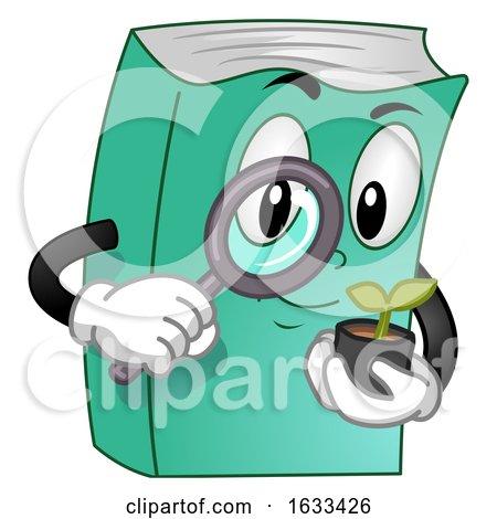 Mascot Book Gardening Illustration by BNP Design Studio