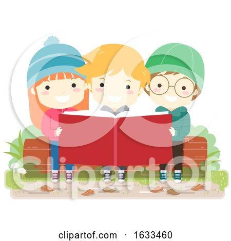 Kids Book Outdoor Nature Study Illustration by BNP Design Studio