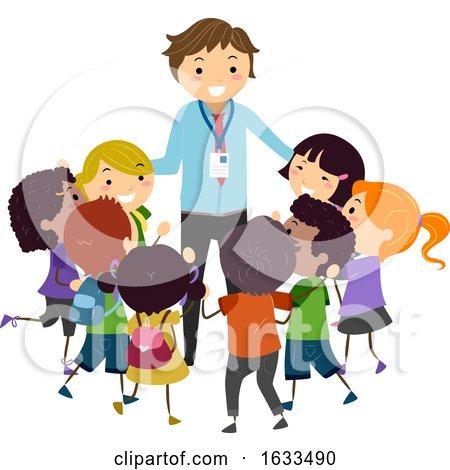 Stickman Kids Favorite Teacher Illustration by BNP Design Studio