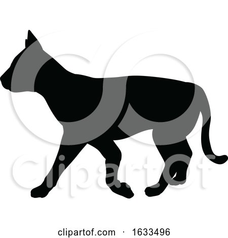 Cat Pet Animal Silhouette by AtStockIllustration