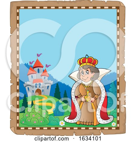 Queen near a Castle Border by visekart