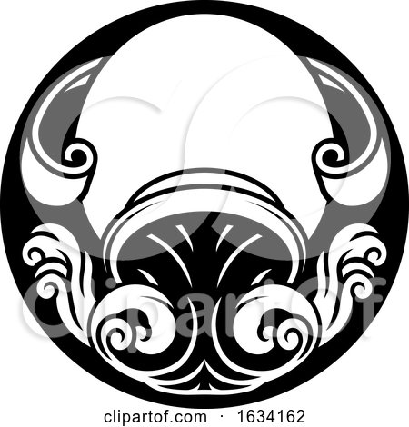 Aquarius Zodiac Horoscope Sign by AtStockIllustration