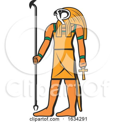 Egyptian God Horus by Vector Tradition SM