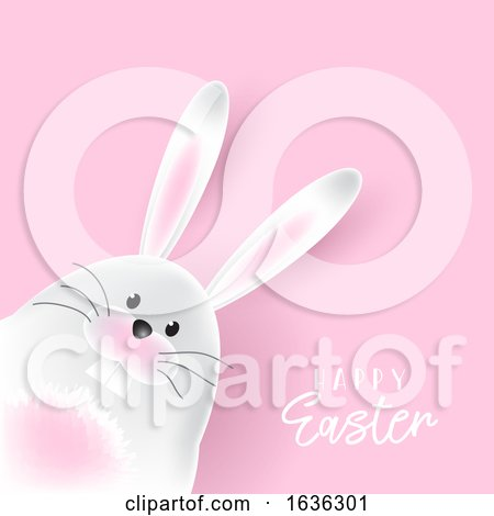 Easter Bunny Background Posters, Art Prints