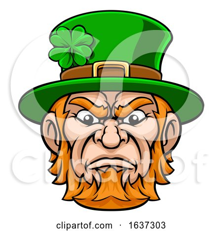 Leprechaun Mascot by AtStockIllustration