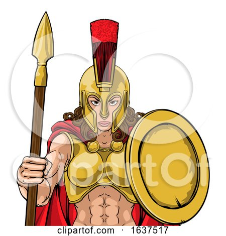 Spartan Trojan Female Warrior Gladiator Woman Posters, Art Prints