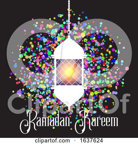 Colourful Ramadan Kareem Background by KJ Pargeter