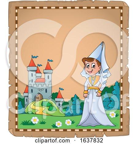 Medieval Princess or Lady by visekart