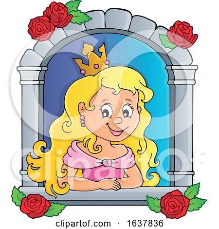 Princess in a Window by visekart