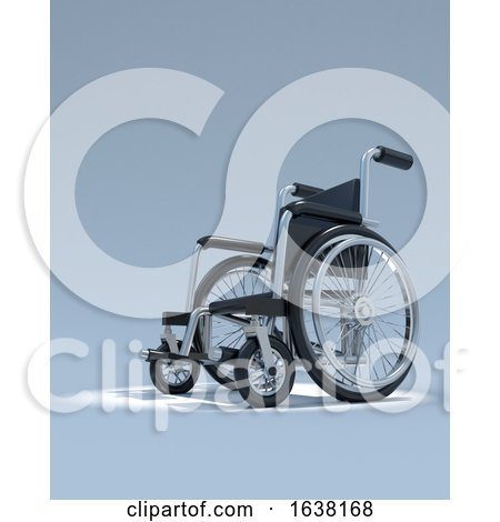 3d Wheelchair in Spotlight by Steve Young
