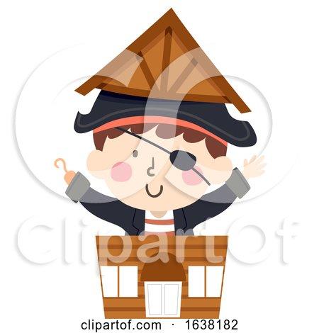 Kid Boy Pirate Shop Illustration by BNP Design Studio