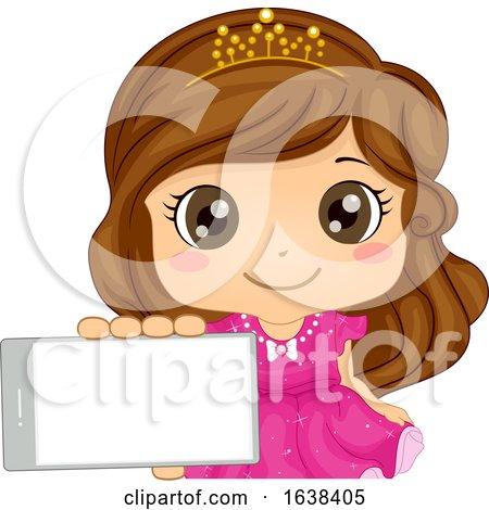 Kid Girl Mobile Arcade Game Princess Illustration by BNP Design Studio