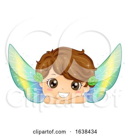 Kid Boy Fairy Illustration by BNP Design Studio